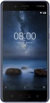 Nokia 8 (4GB RAM) Dual Sim 64GB tempered blue